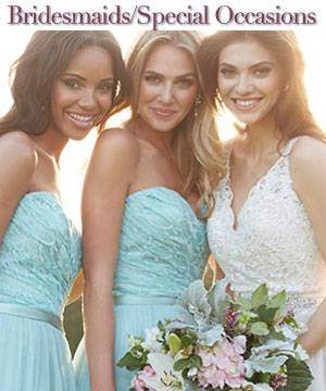 At Best Bride Prom & Tux we have a large selection of bridesmaids dresses