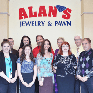 Preferred vendors asheville 39 s finest wedding store for Alan s jewelry pawn
