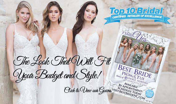 Largest Selection of Bridal Gowns and Wedding Dresses